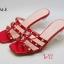 รองเท้าแตะแบบสวมแต่งหมุดทองสวยมาก style valentino thumbnail 1