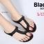 รองเท้าแตะแบบสวมนิ้วโป้งพื้นบุนวมนิ่มประดับอะไหล่สวยงาม thumbnail 1