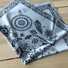 ผ้าพันคอ ผ้าคลุม ซาติน 70*70 ST05-012