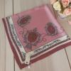 ผ้าพันคอ ผ้าคลุม ซาติน 70*70 ST05-003
