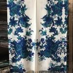 ผ้าพันคอ Pashmina พาสมีน่า ลายดอกไม้ PS05-002