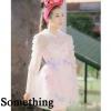 เดรส fairy ด้านในเป็นสายเดี่ยว ผ้าglitter