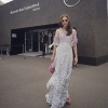 Embroider flower and lace new collection dress