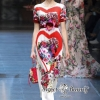 D&G Floral With Love Maxi Dress