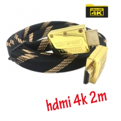 สายHDMI Flat V2.0 FULL HD 3D 4k 2160P 2m