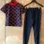 แบรนด์ Gucci เสื้อแขนสั้น+กางเกงขายาว เข้ารูป thumbnail 2