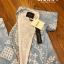 ชุดจั๊มพ์สูทแขนสั้นขายาว ทั้งชุดใช้ผ้าเนื้อดี thumbnail 11