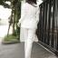 Set เสื้อสูท +กางเกง ตัวเสื้อสูทแต่งกระดุมโรมัน thumbnail 12