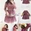 Minidress Lace Fishtail Cocktail Dress Korea Style thumbnail 12