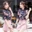 T-Shirt Tie Chic Chic Blue&Pink Set thumbnail 4