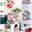 เดรสเนื้อผ้าเครปพิมพ์ลายดอกกุหลาบสีแดง thumbnail 4