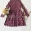 Minidress Lace Fishtail Cocktail Dress Korea Style thumbnail 8