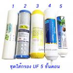 15) ชุดไส้กรองน้ำ 5 ขั้นตอน UF Ultra Filter
