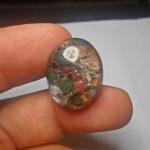 แก้วปวกห้ากษัตริย์ สีหายาก แดง เขียว เหลือง ทอง ขาว น้ำใสมาก ขนาด 2.4x 1.8cm เหมาะทำแหวน ทำจี้