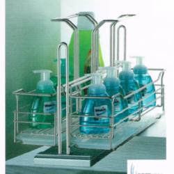 ชุดตะแกรงจัดเก็บผลิตภัณฑ์ทำความสะอาด หน้าบานกว้าง 350 มม. รุ่น HG-307020