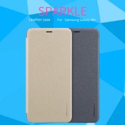 เคสมือถือ Samsung Galaxy A6+ (A6 Plus) รุ่น Sparkle Leather Case