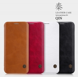 เคสมือถือ Samsung Galaxy S9+ (S9 Plus) รุ่น Qin Leather Case