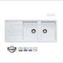 อ่างล้างจาน HAFELE รุ่น BLANCO ZIA 8 S สีขาว Cat. No.495.39.039