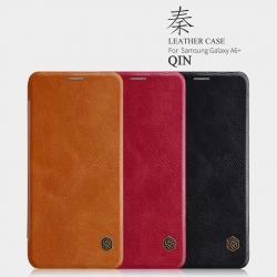 เคสมือถือ Samsung Galaxy A6+ (A6 Plus) รุ่น Qin Leather Case