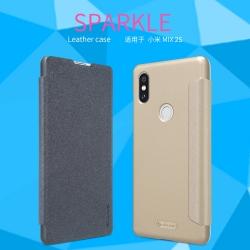 เคสมือถือ Xiaomi Mi Mix 2S รุ่น Sparkle Leather Case