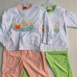 ชุดนอนเด็ก size 3-6-9 เดื่อน ขายส่ง ยกแพ็ค 6 ชุดราคา 660 บาทเท่านั้น