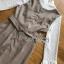 เดรสลายสก็อตสีเบจทับเสื้อลูกไม้สีขาวทรงคอสูง thumbnail 18