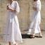Maxi Dress สีขาว thumbnail 2