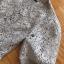เดรสผ้าลูกไม้สีเทาอ่อนทรงแขนสั้นตกแต่งเลเยอร์ thumbnail 14