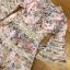 เดรสผ้าคอตตอนสีชมพูพิมพ์ลายดอกไม้ตกแต่งลูกไม้ thumbnail 18