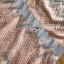 เดรสผ้าลูกไม้สีพาสเทลลายกราฟฟิกตกแต่งระบาย thumbnail 17