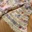 เดรสผ้าคอตตอนสีชมพูพิมพ์ลายดอกไม้ตกแต่งลูกไม้ thumbnail 15
