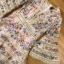 เดรสผ้าคอตตอนสีชมพูพิมพ์ลายดอกไม้ตกแต่งลูกไม้ thumbnail 14