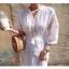 Maxi Dress สีขาว thumbnail 1
