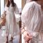 Maxi Dress สีขาว thumbnail 3