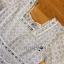 เดรสผ้าคอตตอนตกแต่งลูกไม้สีเทาอ่อนสไตล์วินเทจ thumbnail 13