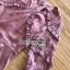 เดรสผ้าชีฟองตกแต่งลายสีทองและระบาย thumbnail 14