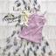 แม๊กซี่เดรสตัวยาวคอกลมแขนตุ๊กตา thumbnail 10