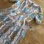 เดรสผ้าลูกไม้ทอลายดอกไม้และลาย scallop thumbnail 16