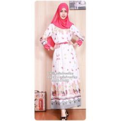 ☆ ✧ Floral Printed Chiffon Dress ✧ PINK