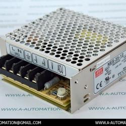 POWER SUPPLY MODEL:NES-35-12,240V 12V 3A [MEAN WELL]