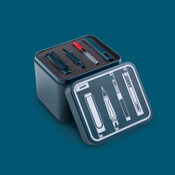 Lamy Safari Petrol Fountain Pen Boxset