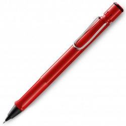 Lamy Safari Red Mechanical Pencils