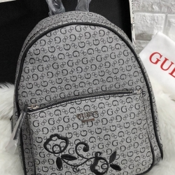 GUESS WOMEN'S CURRAN BACKPACK ONE SIZE HANDBAG *สีเทา
