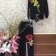พร้อมส่ง เซตเสื้อ+กางเกง ดีไซน์ปักดอกกุหลาบดอกใหญ่ thumbnail 6