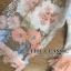 ชุดเดรสเกาหลี พร้อมส่ง เดรสยาว ปักลายดอกไม้ thumbnail 10
