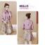 เดรสเกาหลี พร้อมส่ง เสื้อสูท และ เดรส โทนสีชมพูกระปิ thumbnail 8