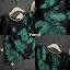 เดรสเกาหลี พร้อมส่ง ชุดเดรส ทรงสวยผ้าโพลีผิวลื่นใส่สบาย thumbnail 7
