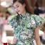 เสื้อผ้าเกาหลี พร้อมส่ง Set เซทเชิ้ดแขนระบาย ทรงปล่อย thumbnail 4