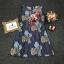 เดรสเกาหลี พร้อมส่ง เดรสผ้าลูกไม้ พิมพ์ลายดอกไม้ thumbnail 9