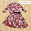 เสื้อผ้าเกาหลี พร้อมส่ง เซ็ตD&G ลายกุหลายแดง thumbnail 5